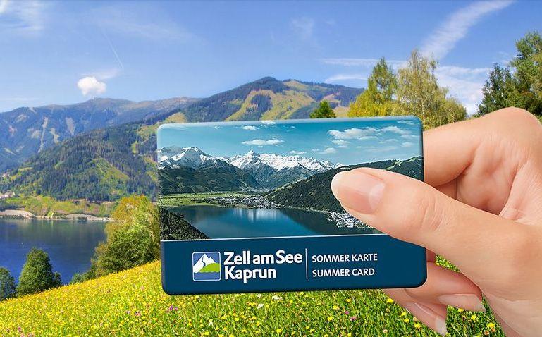 ZellamSee-Kaprun Sommerkarte